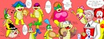 colonel_sanders game koopalings marisa parody ronald_mcdonald super_mario_brothers rating:Safe score:0 user:gerio_japa